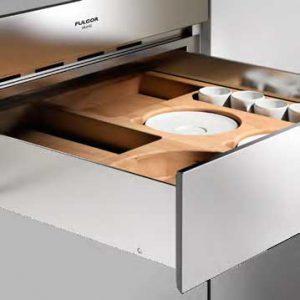 Fulgorin integroitavan kahvikoneen kanssa sopiva kahvitarvike laatikko CM-DC-150