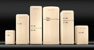 Smeg retro 50-luvun tyylinen FAB jääkaappisarja